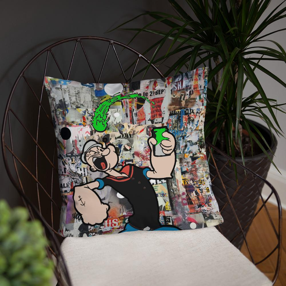 Popeye The Sailor Man Pillow
