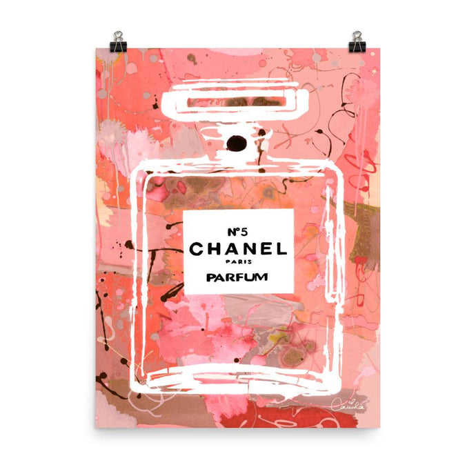 CHANEL Peach Sorbet Poster