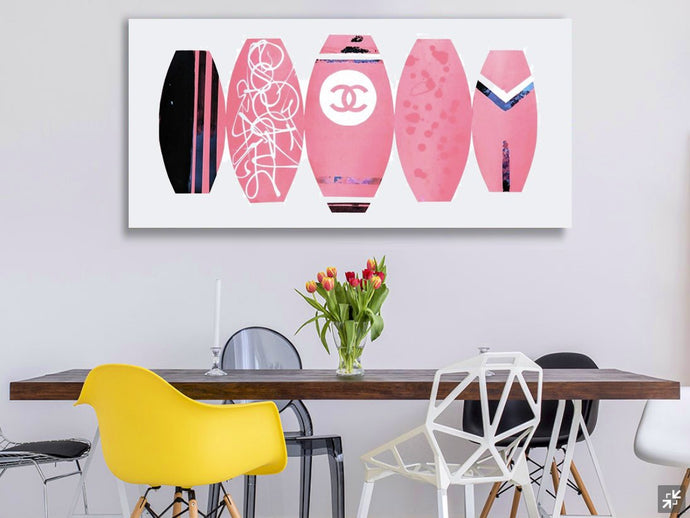 Chanel Surf Boards - Pink