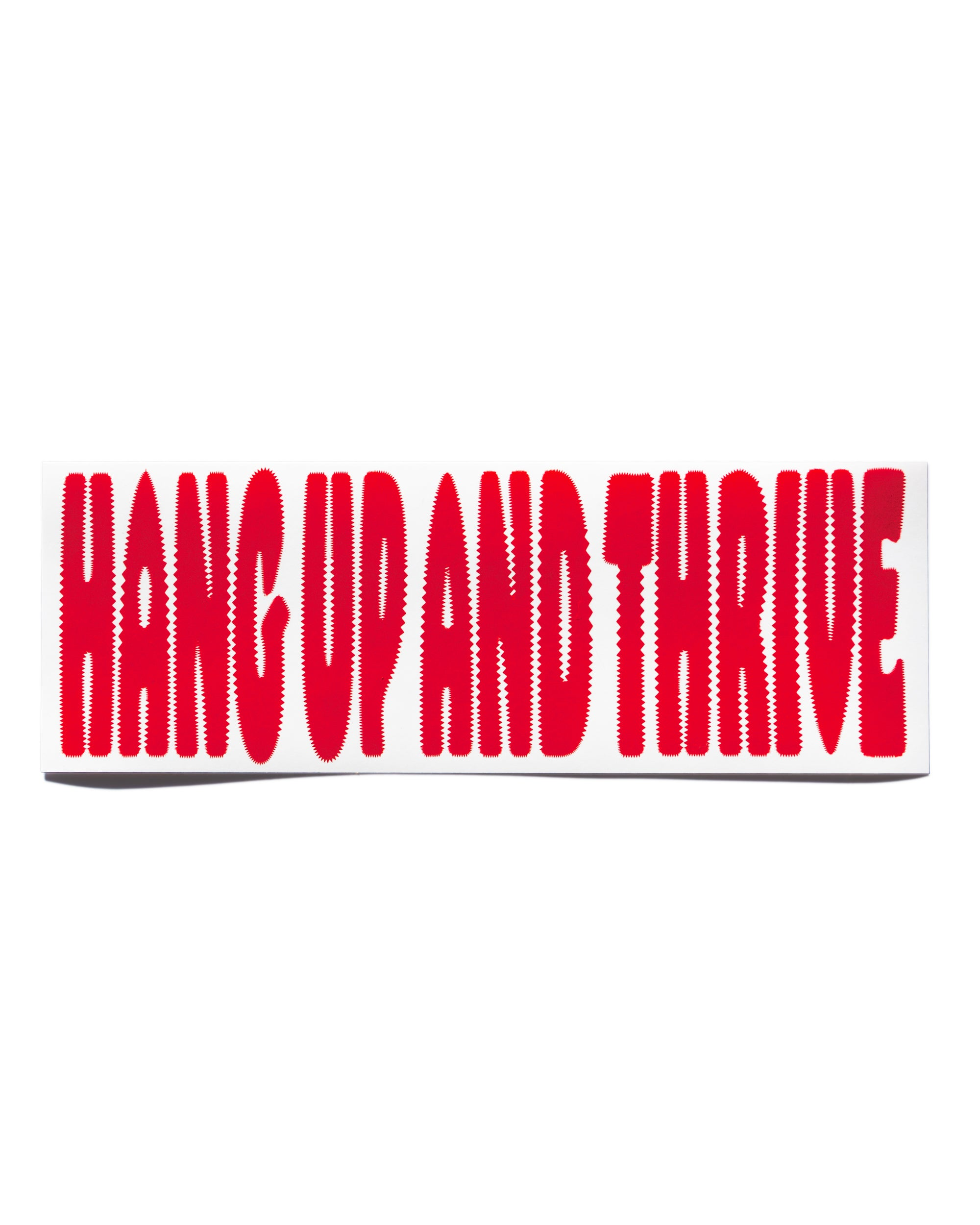 Summerland - Hang up and thrive- bumper sticker