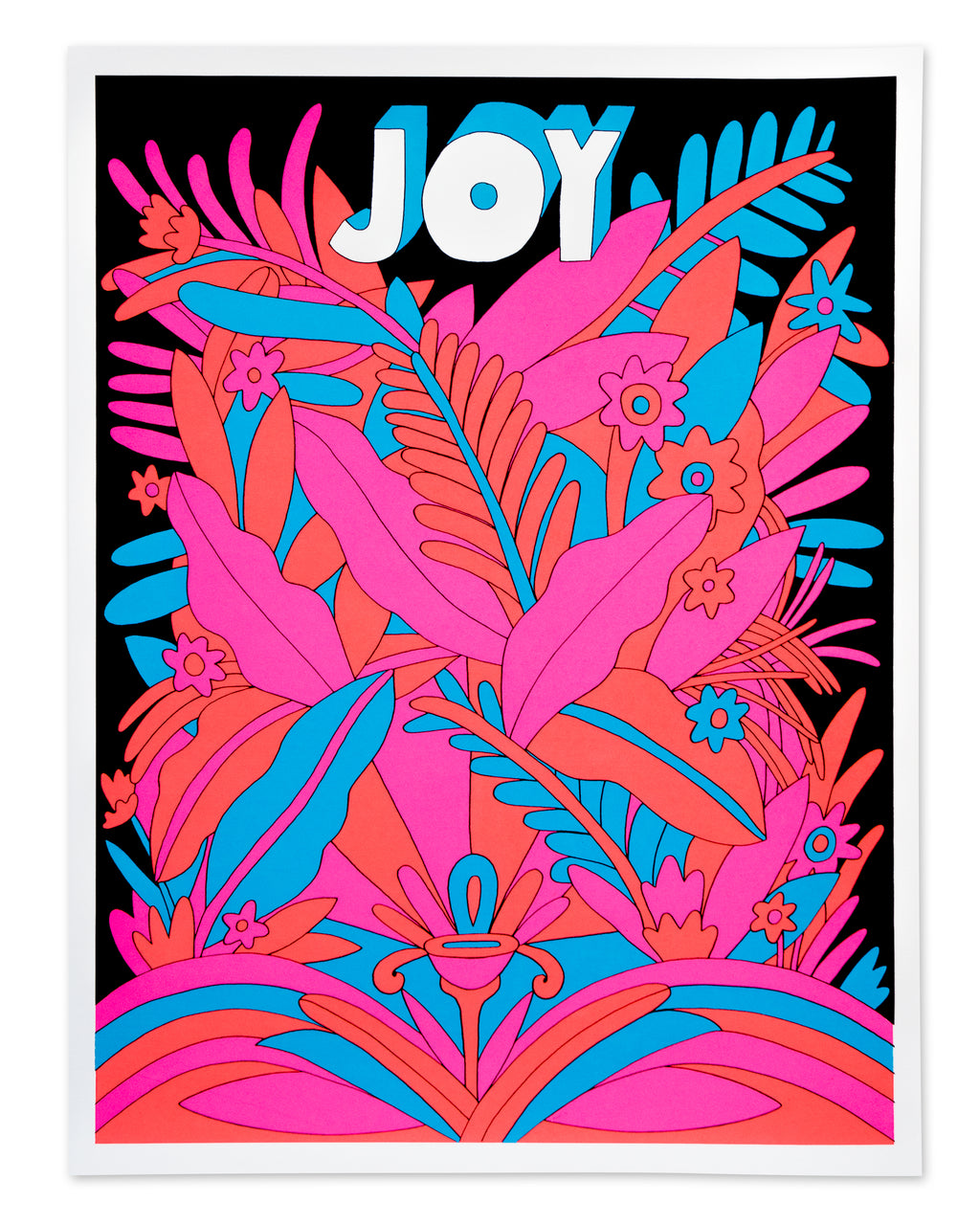 Black Light Poster - Lea Carey