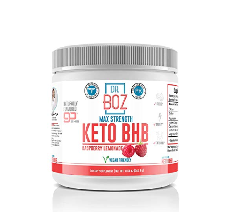 Dr Boz Max Strength Keto BHB - Raspberry Lemonade