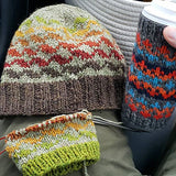 Road to Dutchess County Hat Kit - Fall Colors
