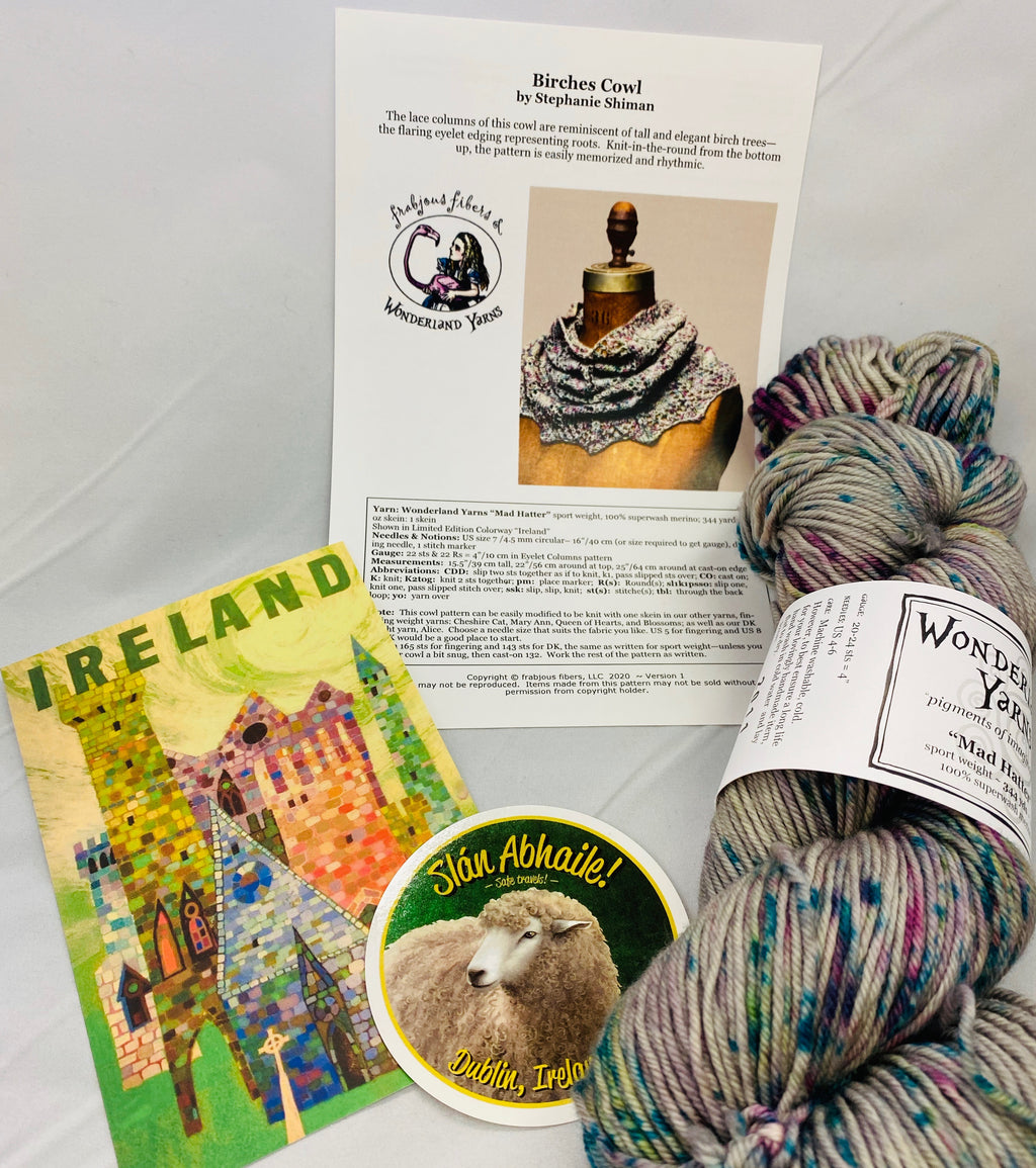 Wonderland Yarns Yarn Kit of the Month Club