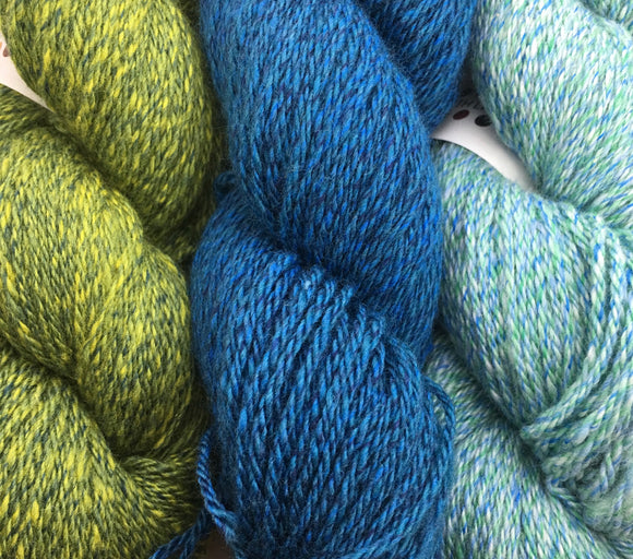 North Light Fibers Yarns are made from the finest Cashmere and Merino are used in this yarn to provide a lush and fantastic yarn with great hand and drape.
