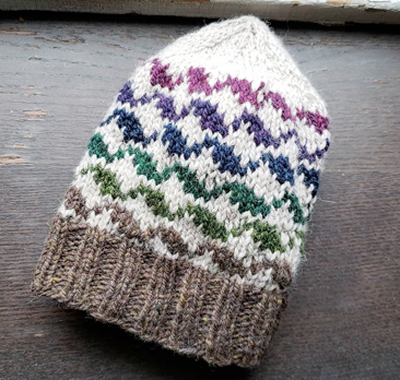 Road to Dutchess County Hat Kit - Winter Colors