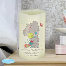 Personalised Tiny Tatty Teddy Cuddle Bug Nightlight LED Candle