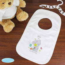 Load image into Gallery viewer, Personalised Tiny Tatty Teddy Cuddle Bug 0-3 Months Baby Bib