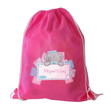 Load image into Gallery viewer, Personalised Me To You Pink Swim & Kit Bag