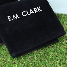 Load image into Gallery viewer, Personalised Golf Towel
