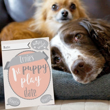 Load image into Gallery viewer, Personalised Puppy Cards For Milestone Moments