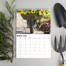 Load image into Gallery viewer, Personalised A4 Gardening Calendar