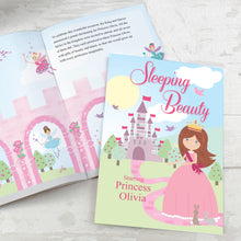 Load image into Gallery viewer, Personalised Sleeping Beauty Story Book