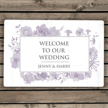 Load image into Gallery viewer, Personalised Soft Watercolour Metal Sign