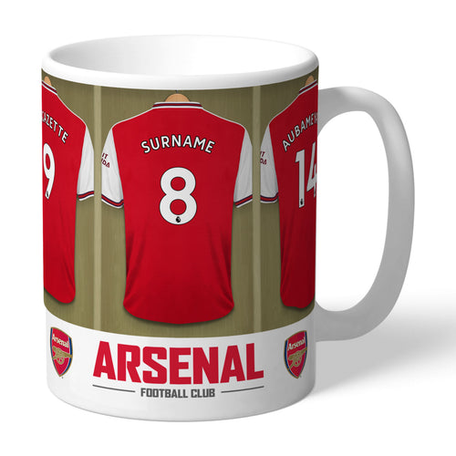 Personalised Football Dressing Room Mug (more options)