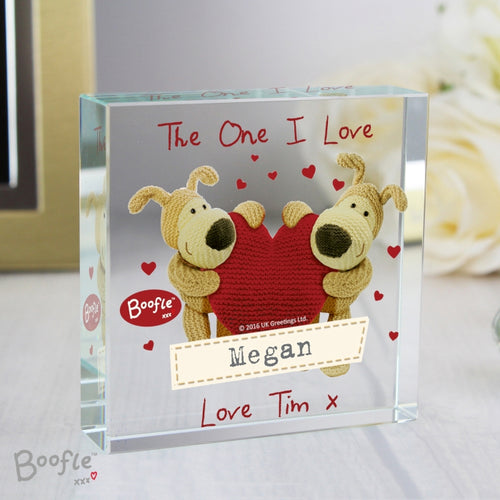 Boofle Shared Heart Large Crystal Token