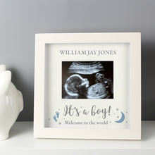Personalised 'It's A Boy/Girl' 4 x 3 Baby Scan Frame