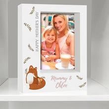 Load image into Gallery viewer, Personalised Mummy and Me Fox 5x7 Box Photo Frame