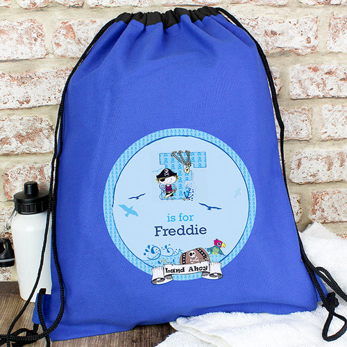 Personalised Pirate Swim & Kit Bag
