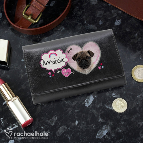 Personalised Pug Purse