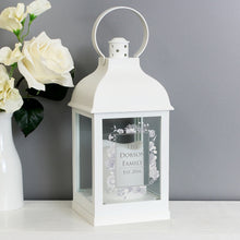 Personalised Soft Water Colour Lantern