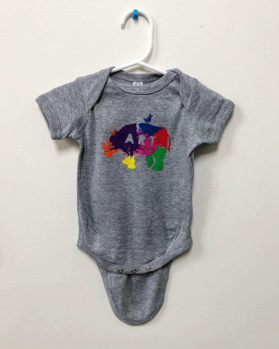 RiNo Art District Baby Onesie