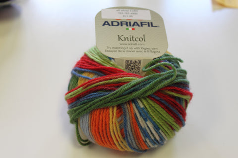 Sock making yarn from Adriafil and Schachenmayr