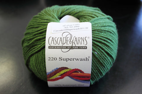 Cascade 220 Superwash Yarn Color 208