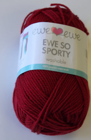 Ewe so sporty color #20 yarn