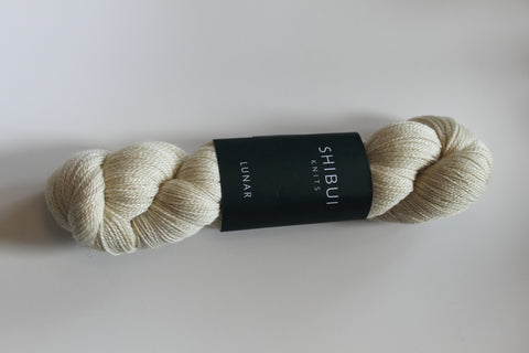 Shibui Lunar Yarn Color Ivory