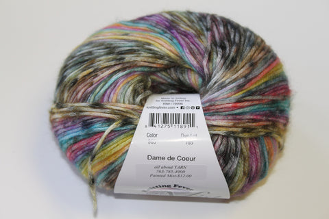Knitting Fever Painted Mist Yarn Dame de Coeur