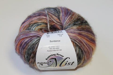 Knitting Fever Painted Mist Yarn Sundance