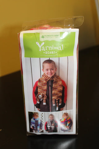 Yarnimals Kit makes a child's Dog Scarf