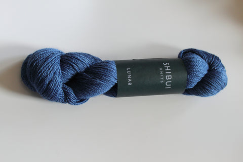 Shibui Lunar Yarn Color Blueprint
