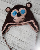 Yarnimal Kit makes a child's Monkey Hat