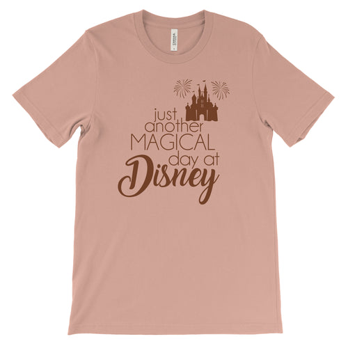 Magical Day at Disney - Unisex Rose Gold Tee