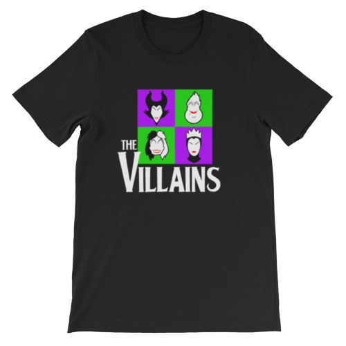 The Villains - Halloween - Unisex Tee