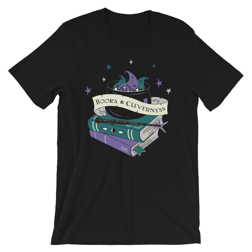 Books & Cleverness - Harry Potter - Unisex Tee
