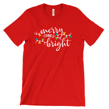 Merry & Bright Mickey Holiday Tee