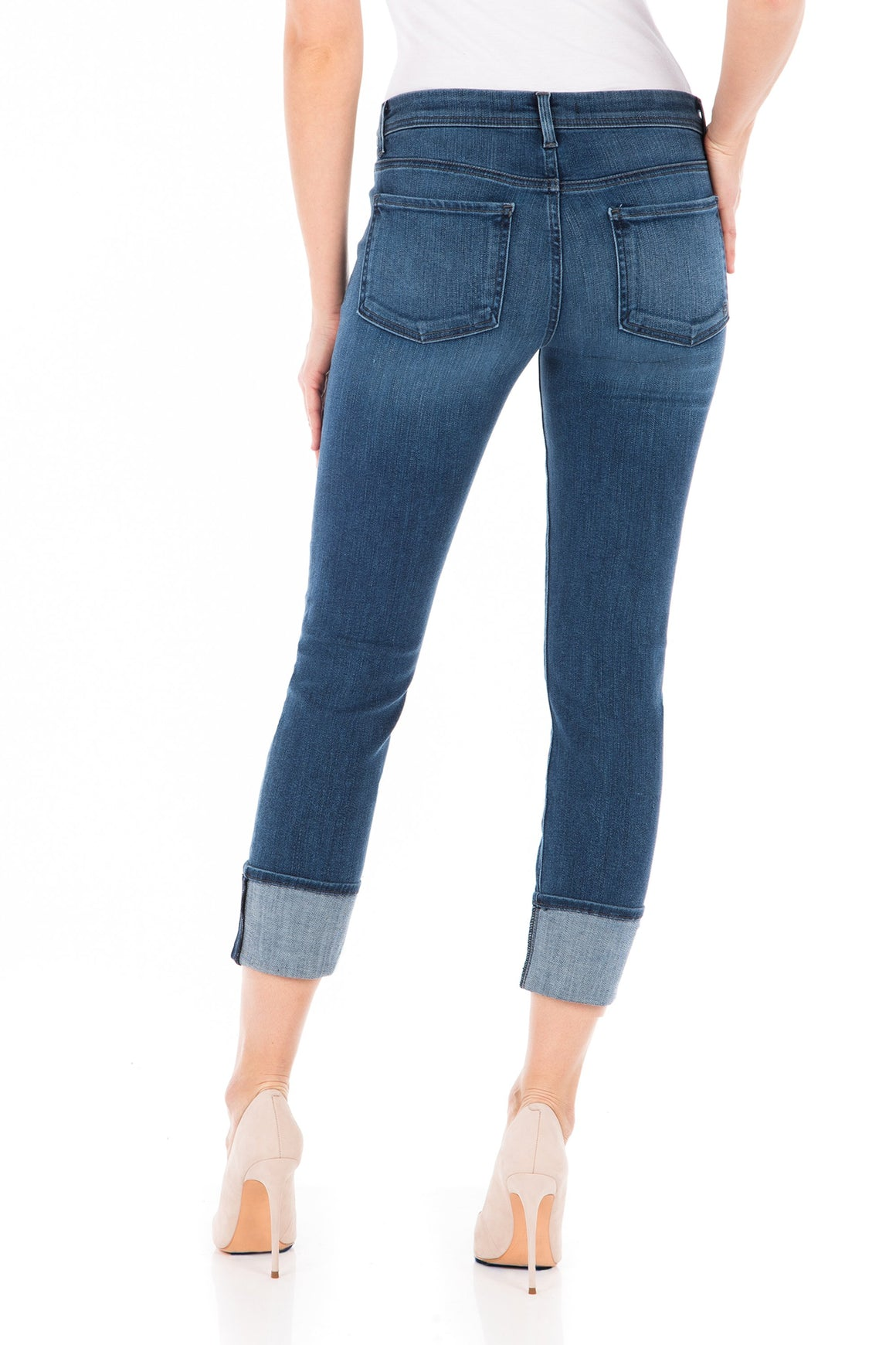 Fidelity Denim Stevie Crop