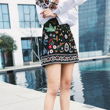 Floral Embroidery Skirt