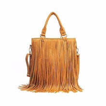 Maxi Fringed Handbag