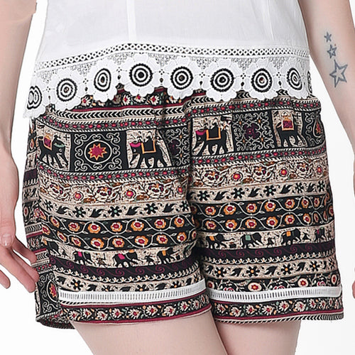 Ethnic Elephants Shorts
