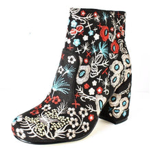 Woodstock Embroidery Boots