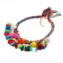 Rainbow Boho Necklace