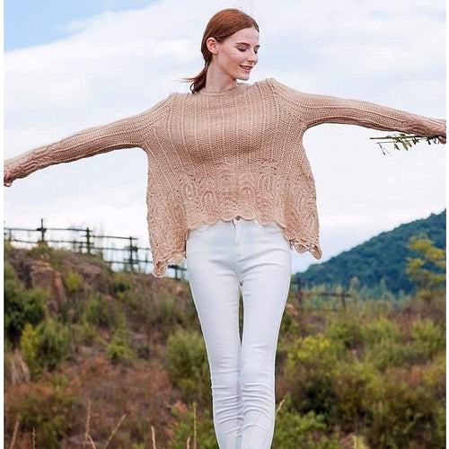 Allegra Crochet Sweater