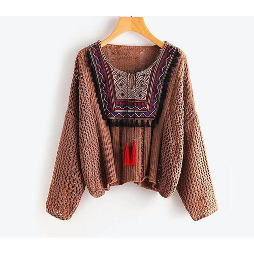 Aspen Ethnic Sweater