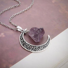 Moon & Crystal Necklace