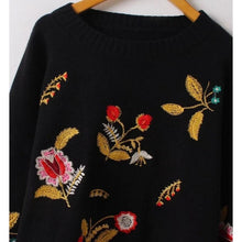 Selena Embroidered Sweater