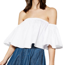 Off the Shoulder Short Top